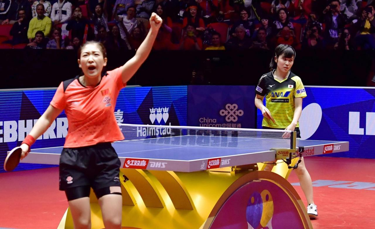 Japan falls to China in World Team Table Tennis Championships women's final | The Japan Times